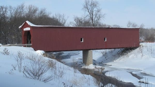Historic Covered Bridge In Zumbrota Damaged During Winter Storm