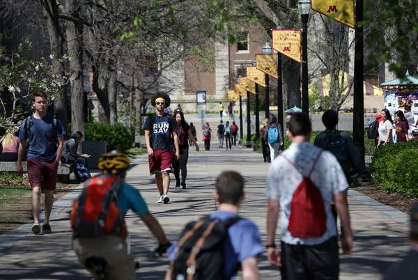 Spring at the U of M
