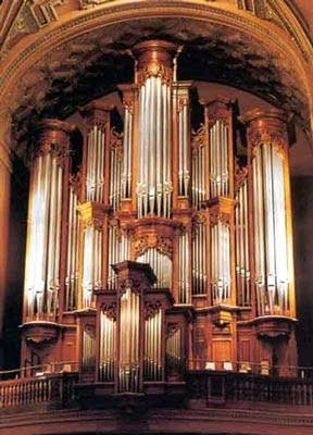 1993 Mander organ at the Church of Saint Ignatius Loyola, New York, NY