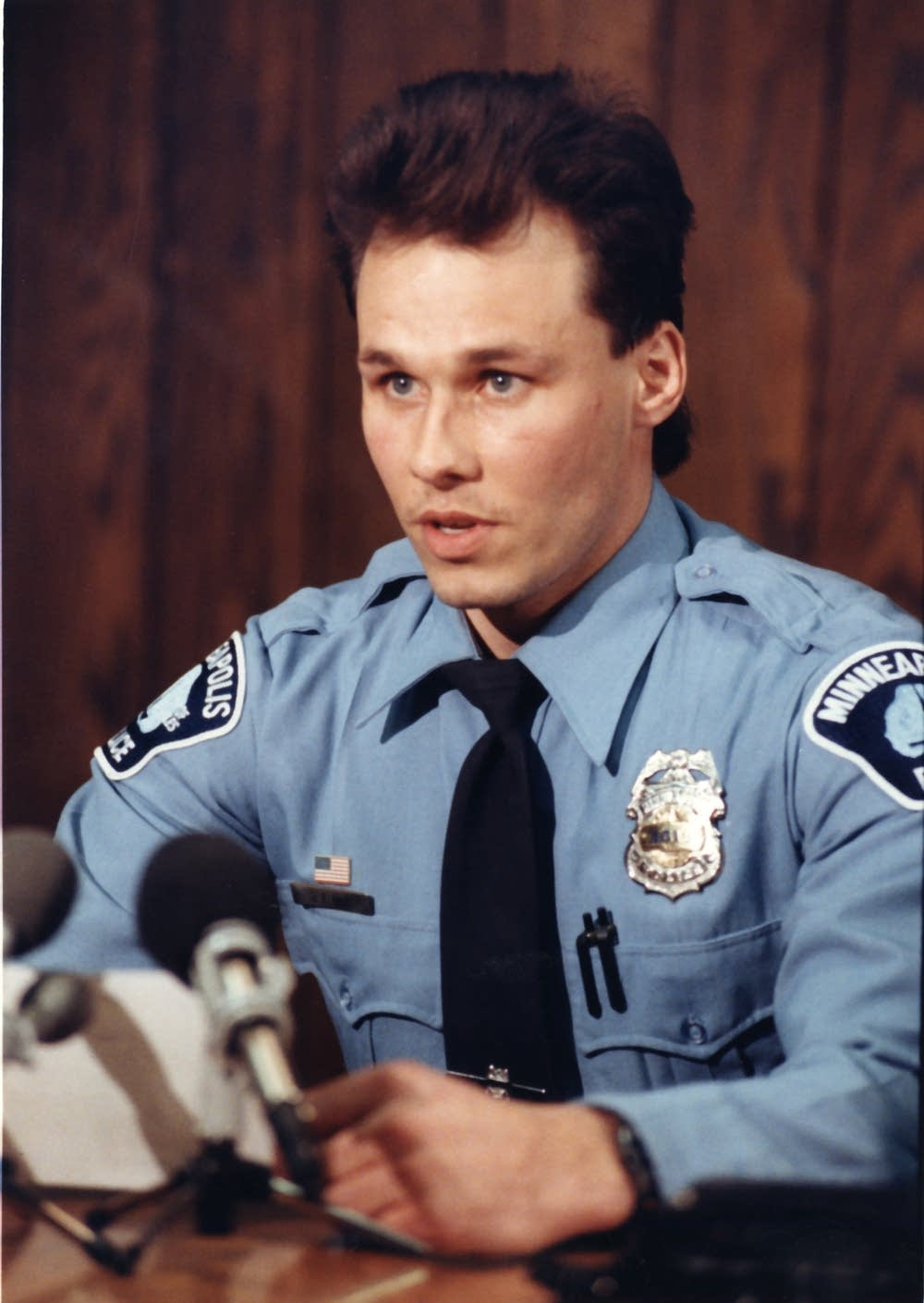 Minneapolis police officer Dan May