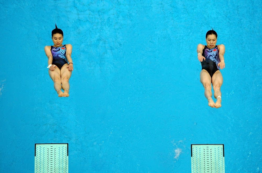Two divers