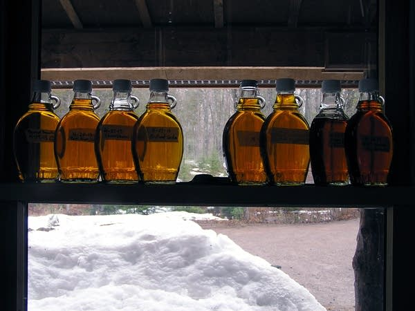 Simple Gifts maple syrup