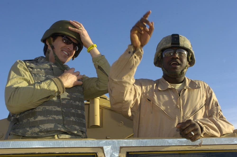 Pawlenty in Iraq
