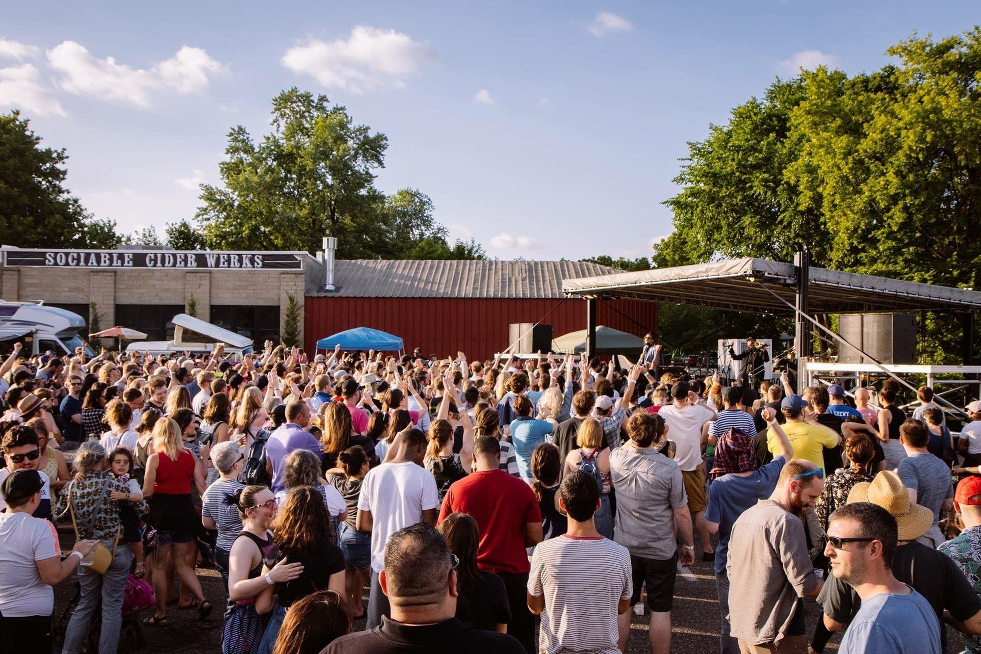 Sociable Cider Werks Summer Kickoff