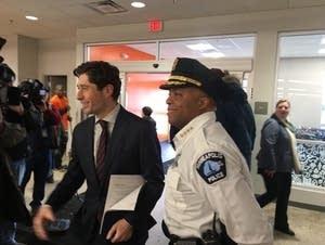 Minneapolis Mayor Jacob Frey, Police Chief Medaria Arradondo
