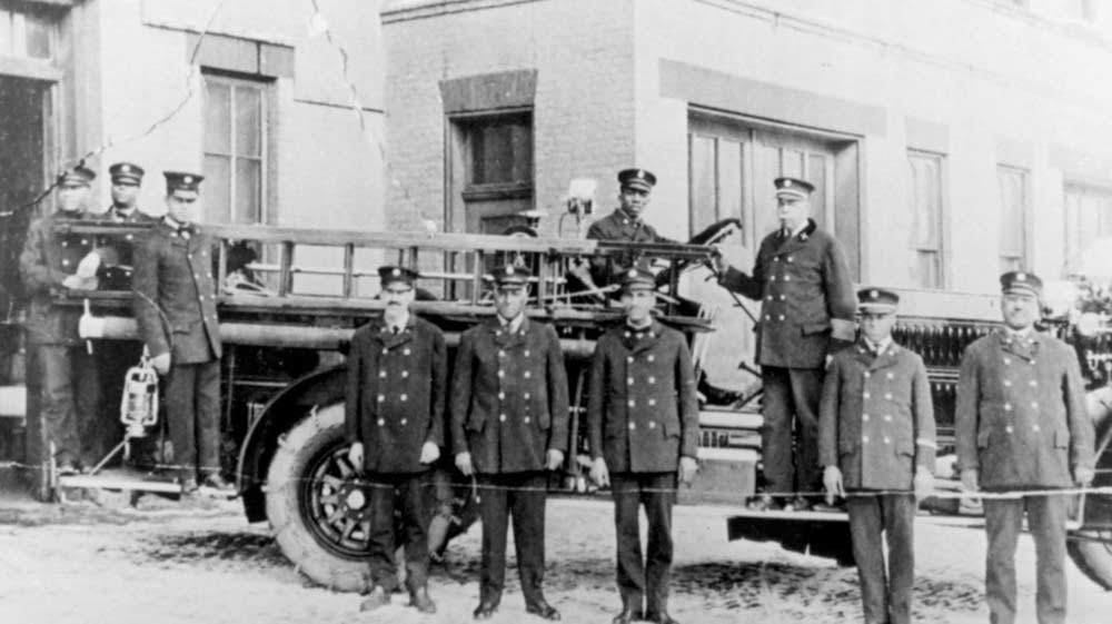 Firefighters in St. Paul