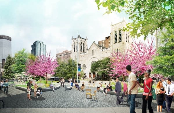 Nicollet Mall redesign