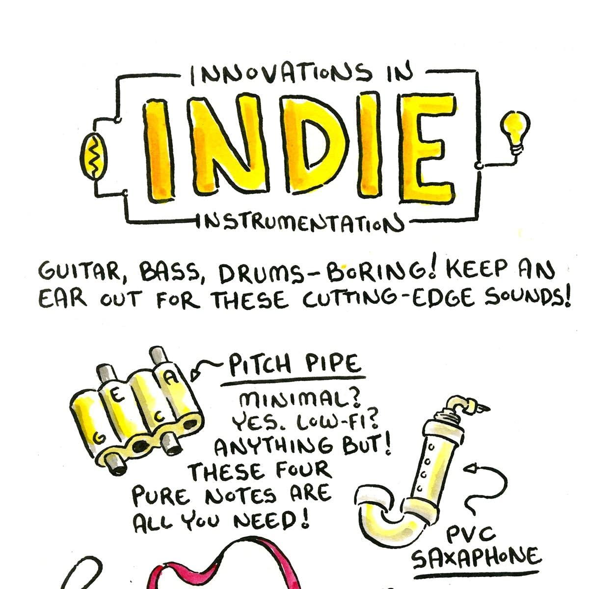 Comic anders instrumentation