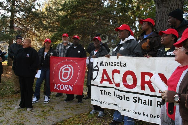 Canvassers for the Minn. chapter of ACORN