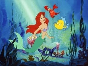 A still from 'The Little Mermaid.'