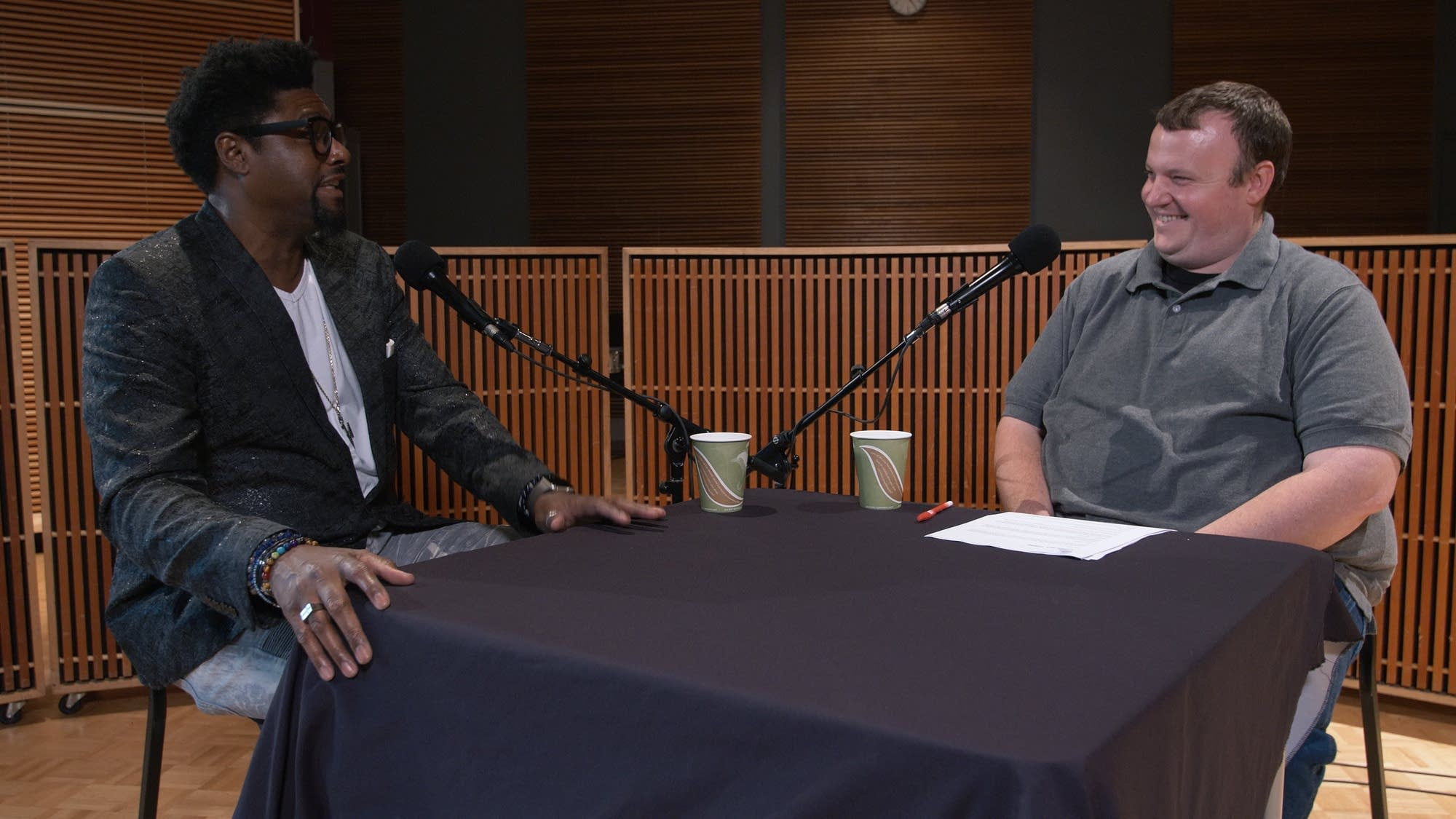 Morris Hayes talks with Sean McPherson at The Current