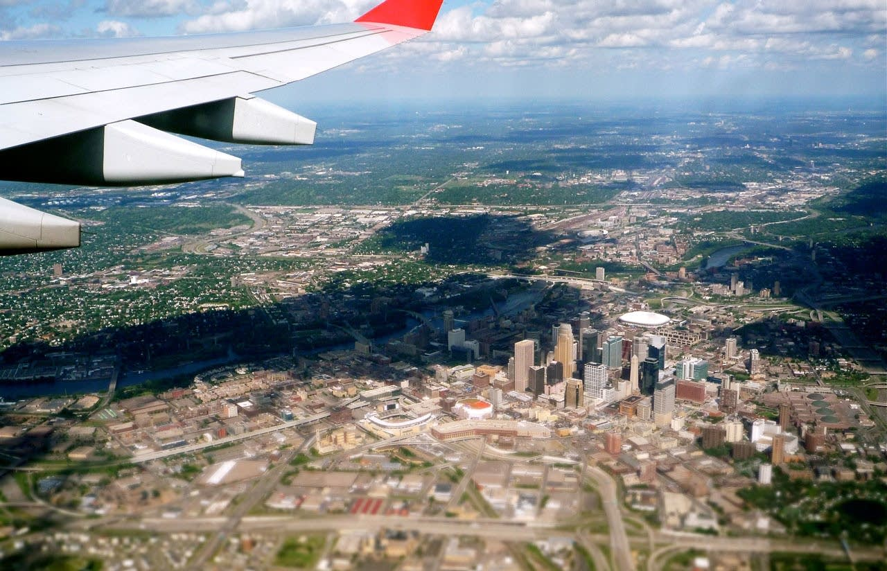 Taking off from MSP