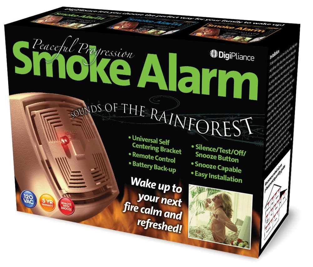 Rainforest smoke alarm