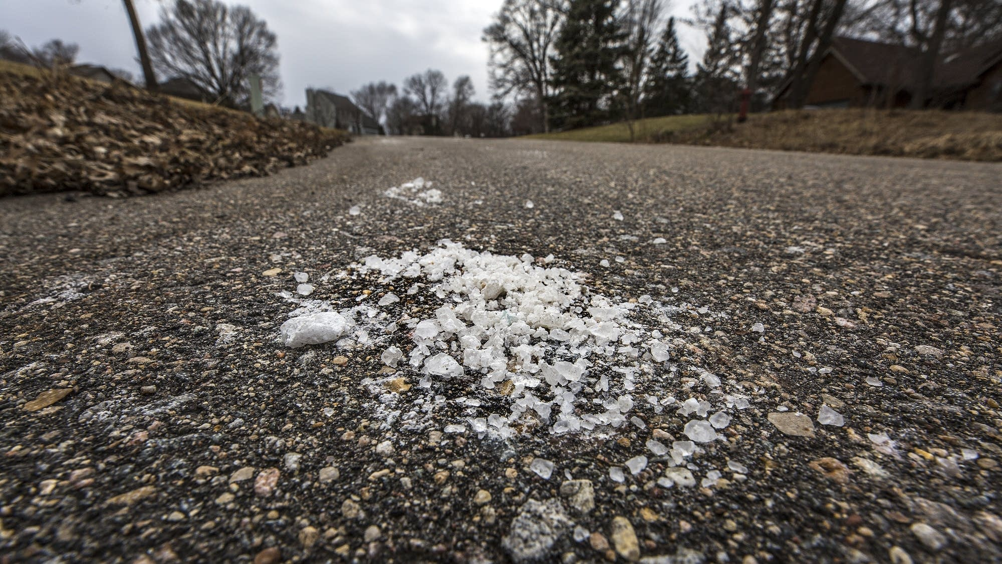 Rock salt is used to make Minnesota roads safer during winter months.