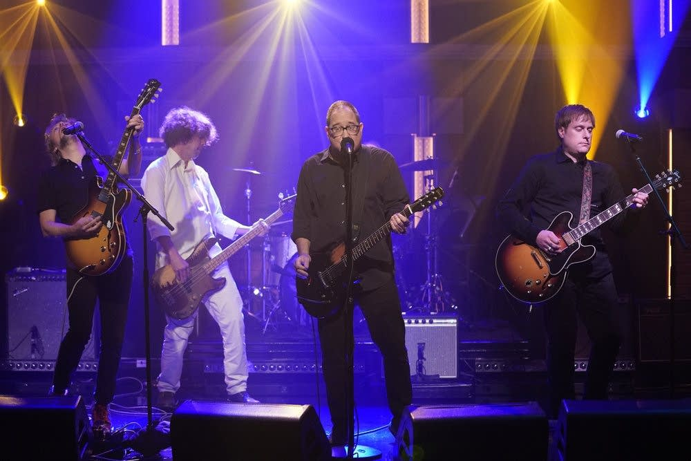 The Hold Steady perform on 'Late Night with Seth Meyers'
