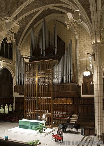 1963 Casavant Frères organ at Central Lutheran Church, Minneapolis, Minnesota