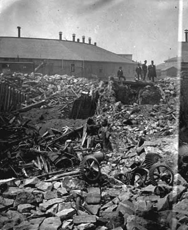 Washburn A Mill after explosion
