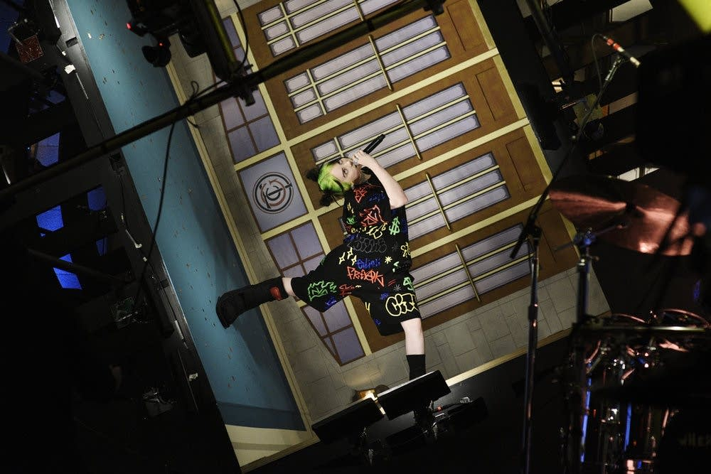 Billie Eilish on 'Saturday Night Live' season 45 premiere