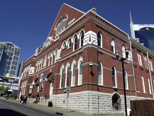 The Ryman Auditorium in downtown Nashville