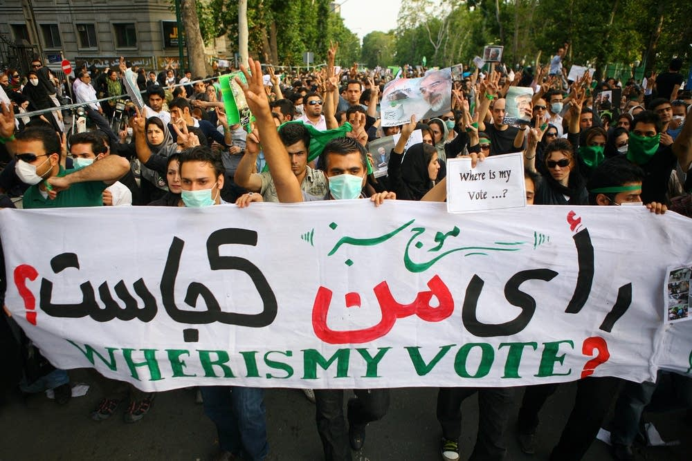 Unrest Continues After Iranian Presidential Electi