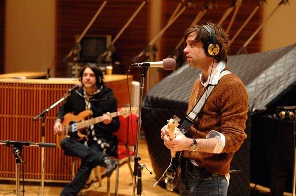 Bassist Chris Feinstein and Ryan Adams