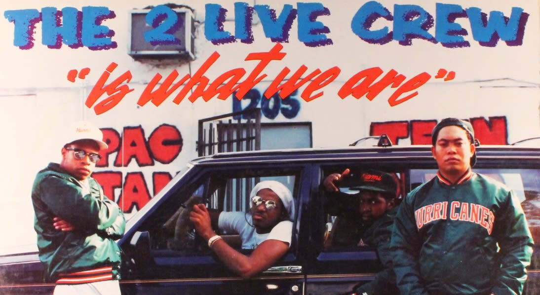 Detail of the cover of 2 Live Crew's 1986 debut album
