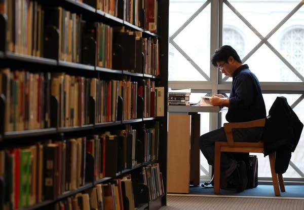 Library patron