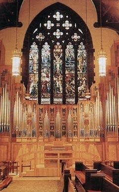1987 Rieger organ at Holy Trinity Episcopal Church, New York, NY