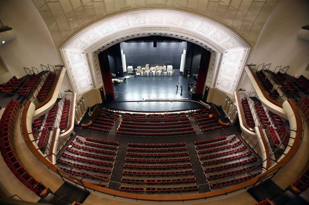 A look inside the renovated northrop auditorium minnesota public