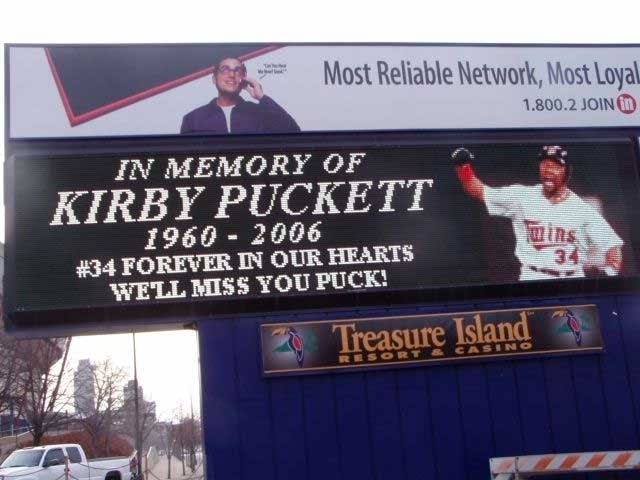 Kirby Puckett Remembered Mpr News