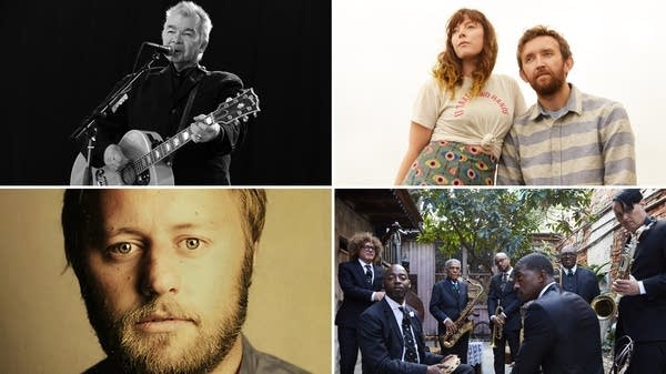 John Prine, Sylvan Esso, Rory Scovel, Preservation Hall Jazz Band