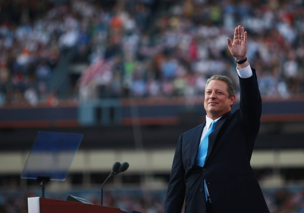 Former U.S. Vice President Al Gore at the DNC