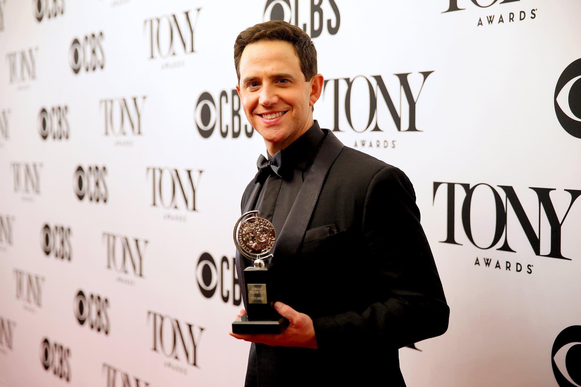Tony winner Santino Fontana.