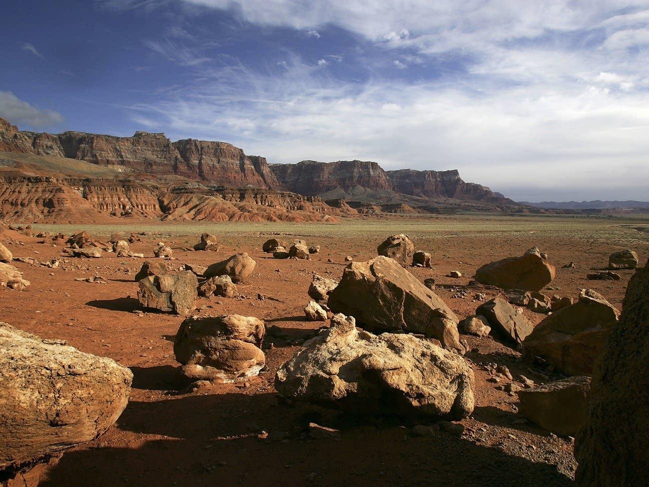 The Vermillion Cliffs National Monument