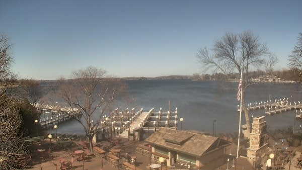 Excelsior Bay on Lake Minnetonka Tuesday