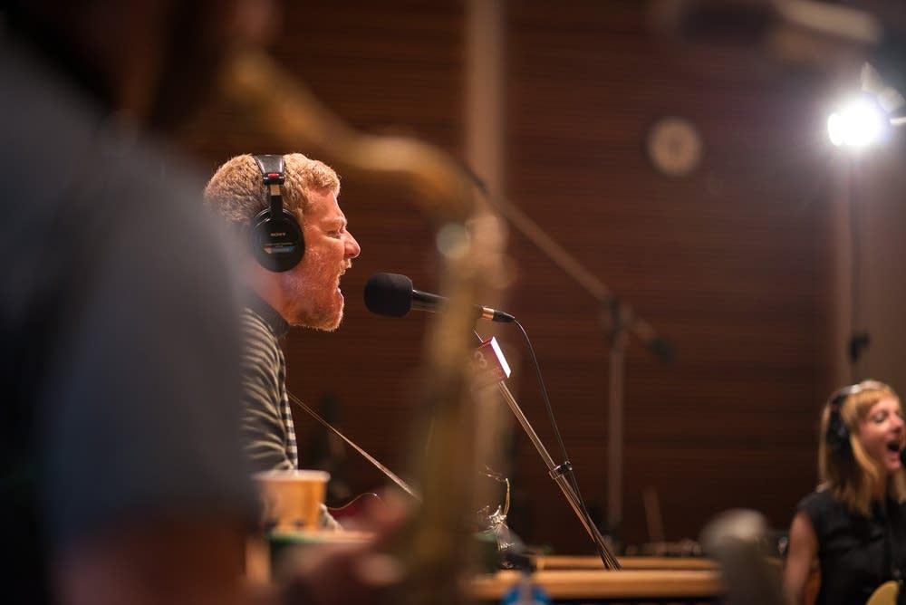 A.C. Newman in-studio