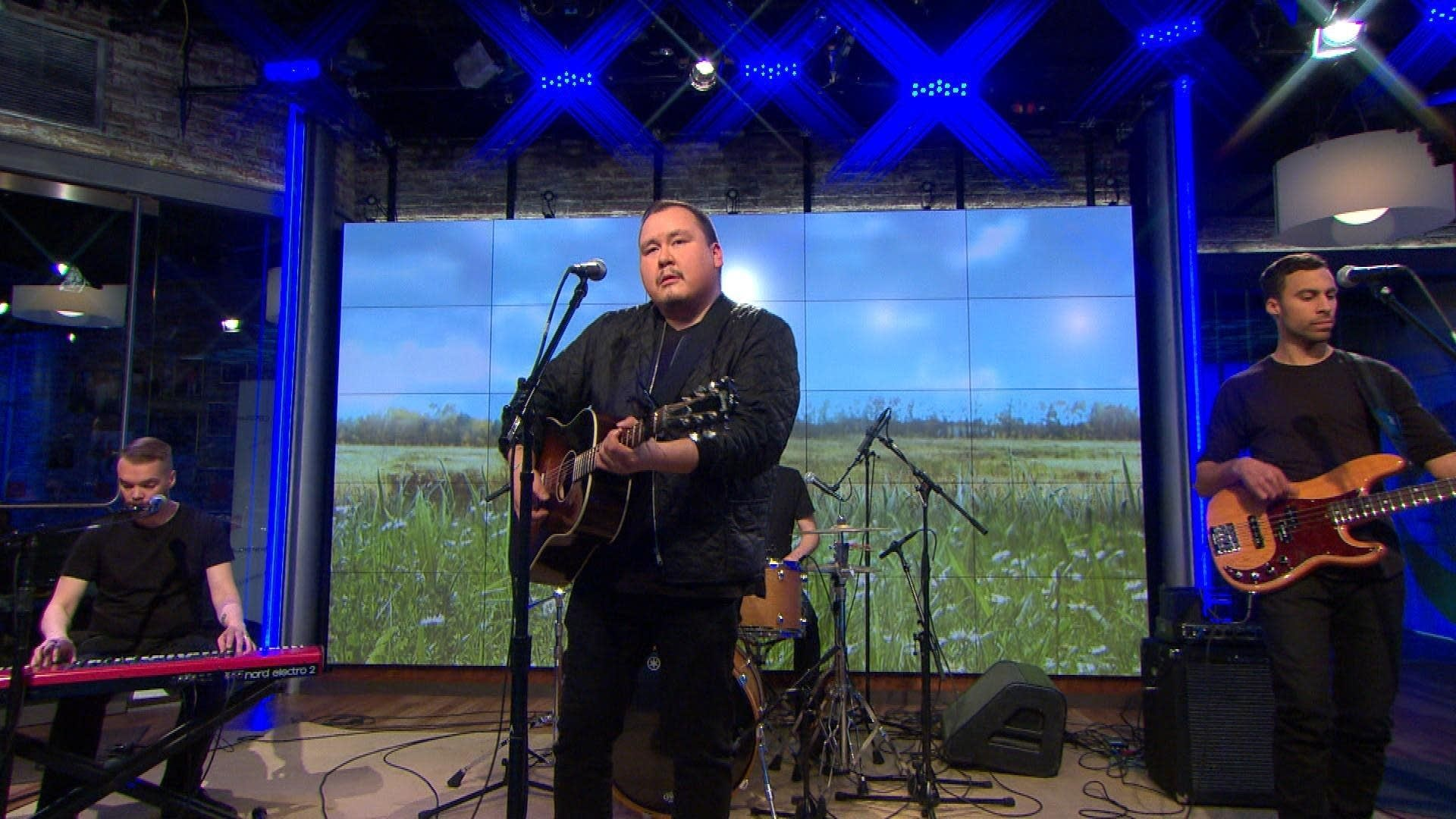 William Prince performs on 'CBS This Morning' Saturday Sessions