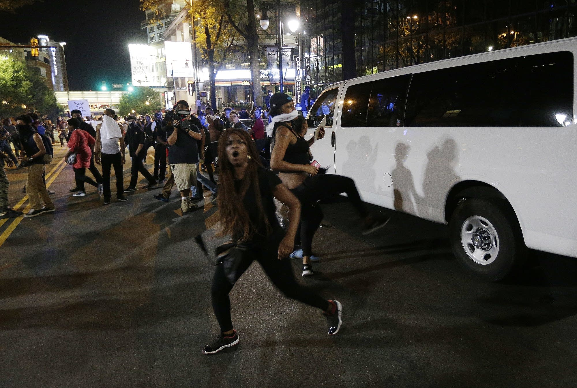 Protests in Charlotte, N.C.