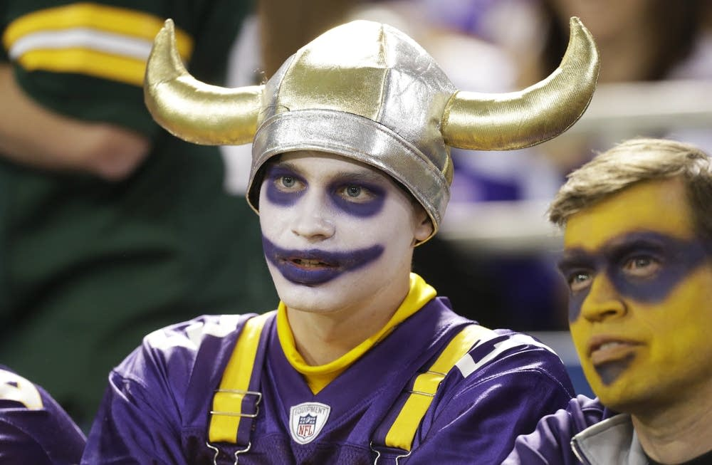 A Vikings fan