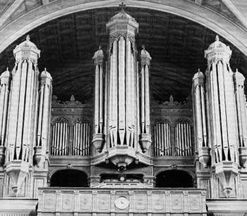 1993 Dargassies organ at the Church of Saint-François-Xavier, Paris, France
