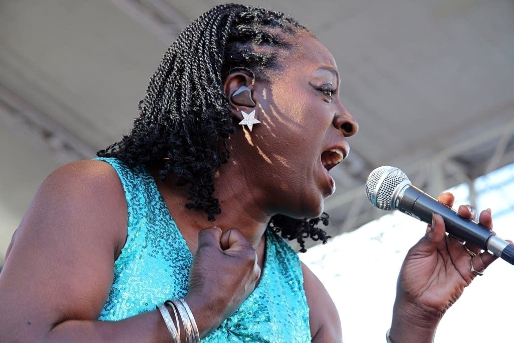 Sharon Jones at Rock the Garden 2010