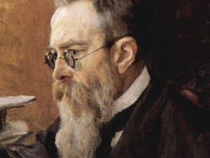 Rimsky-Korsakov painted by serov