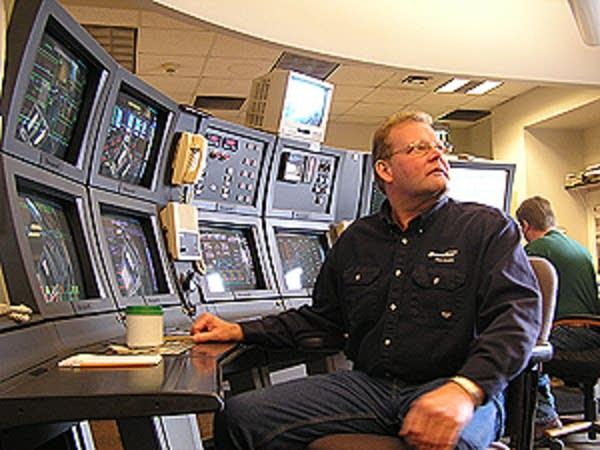 The Big Stone control room