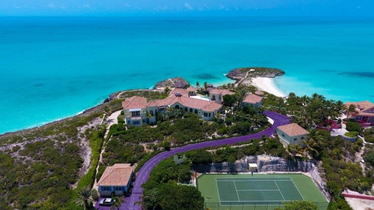 Prince's Caribbean escape to be auctioned on July 12