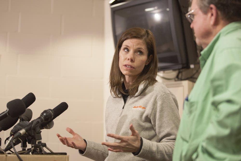 BNSF spokeswoman Amy McBeth