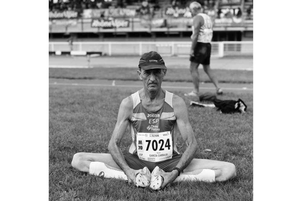 Spanish long jumper Manuel Garcia Carbajo, 72