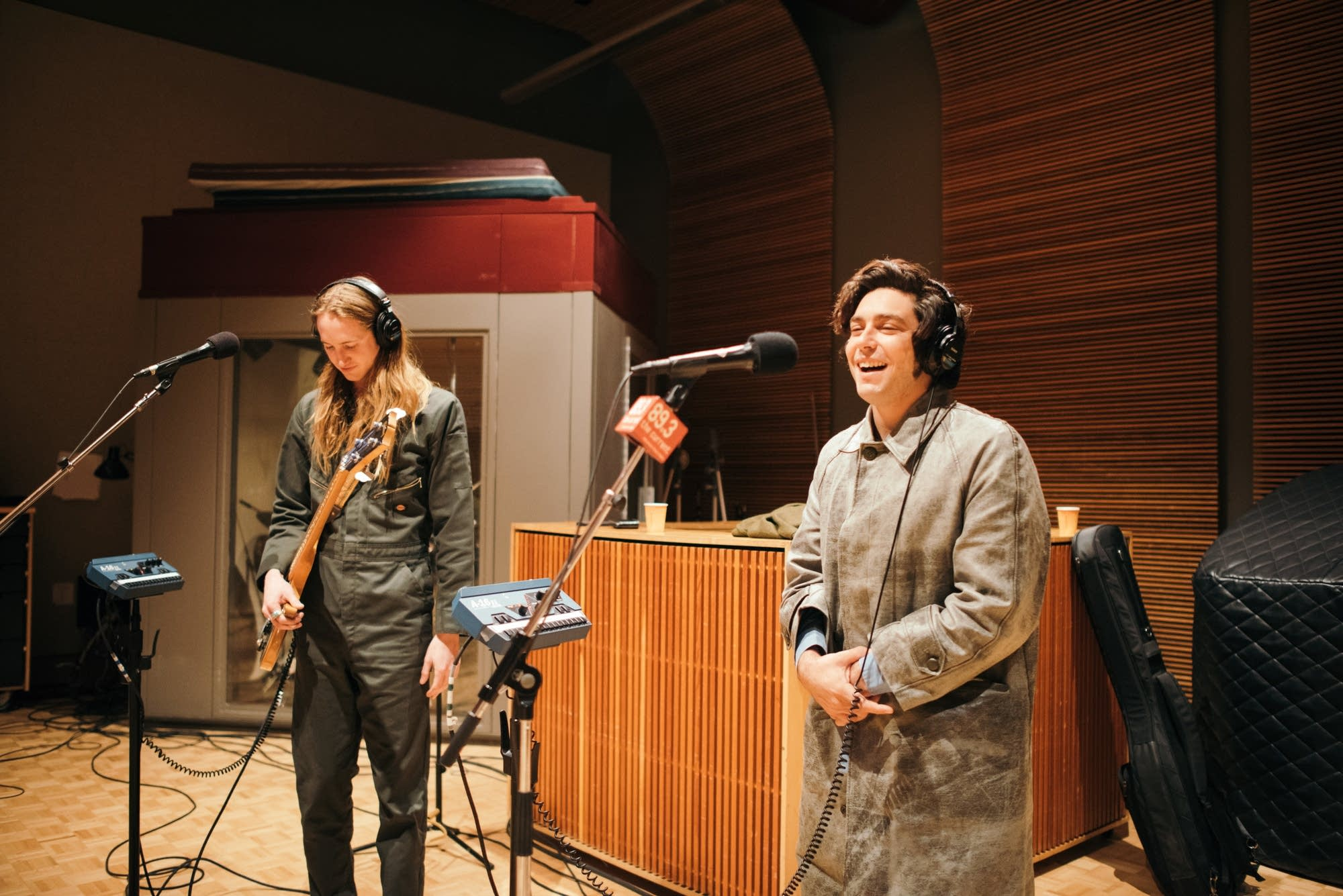 The Growlers perform in The Current studio