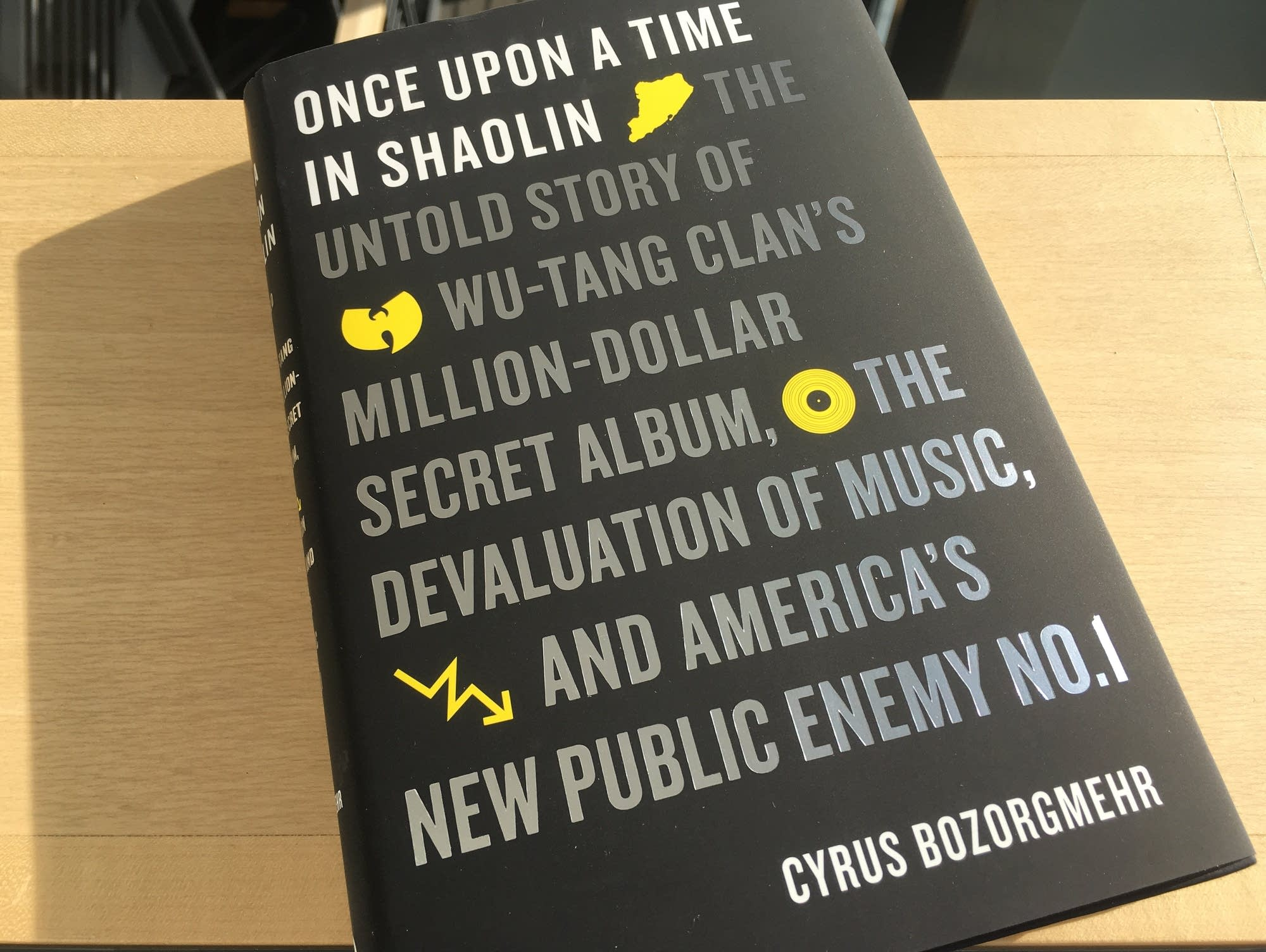 Cyrus Bozorgmehr's book 'Once Upon a Time in Shaolin.'
