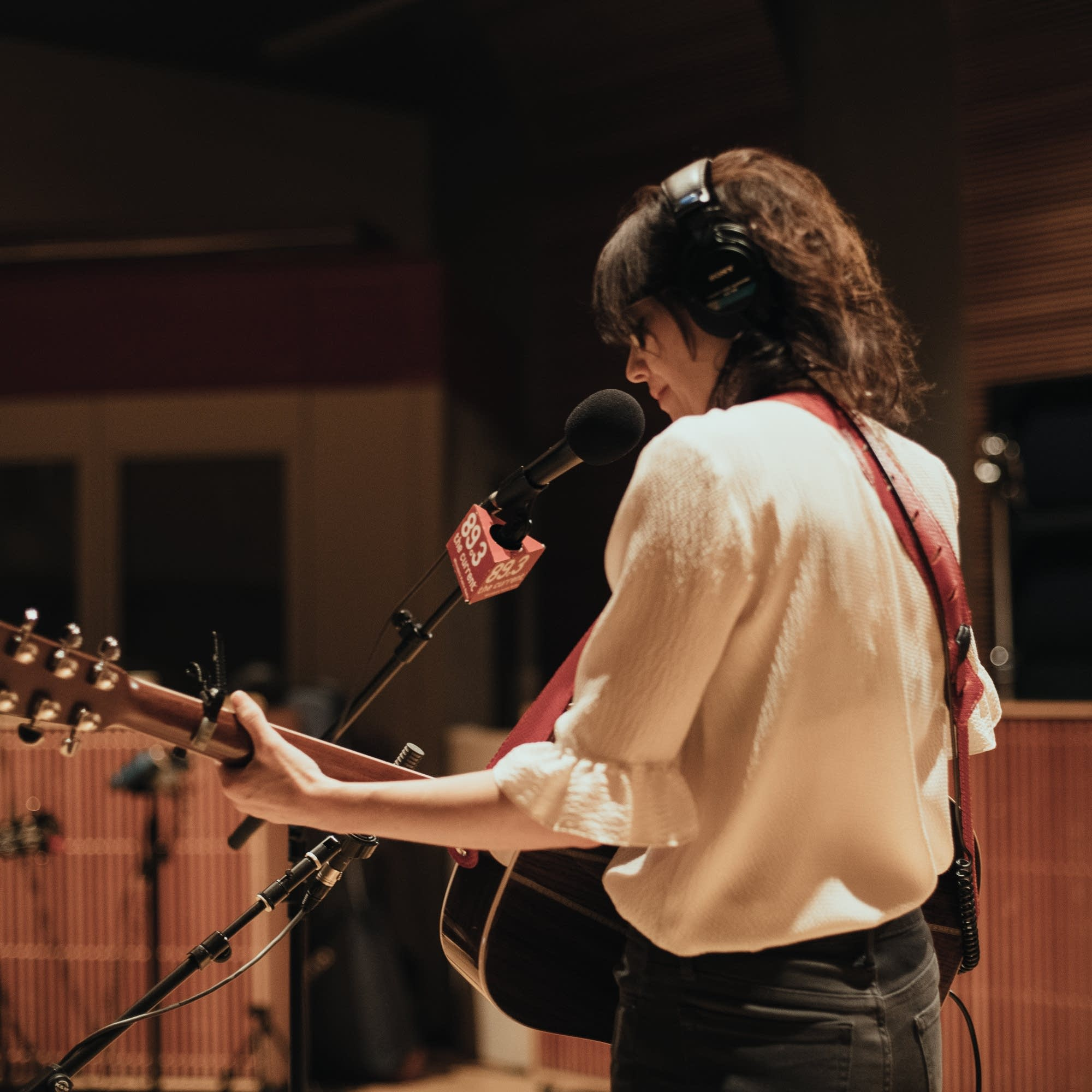 Pieta Brown performs in The Current studio