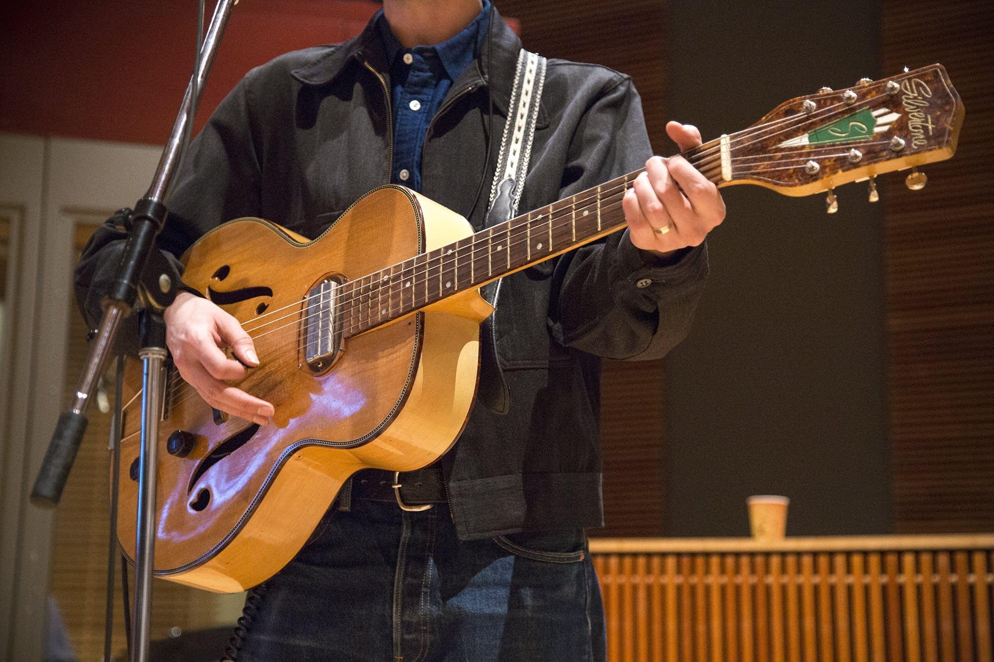 Jack Torrey's Silvertone Guitar